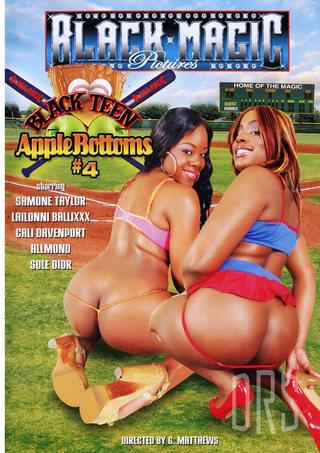 Large Photo of Black Teen Apple Bottoms 4