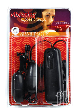 back - Black Vibrating Clamps with Broad Tip
