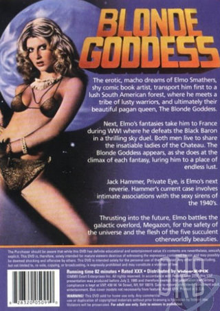 back - Blonde Goddess