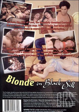 back - Blonde In Black Silk