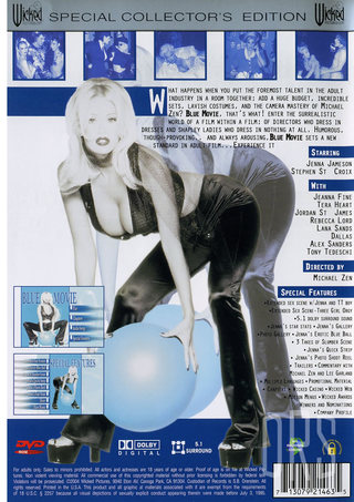 back - Blue Movie Special Edition - Jenna