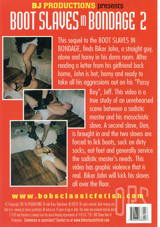 back - Boot Slaves In Bondage 2