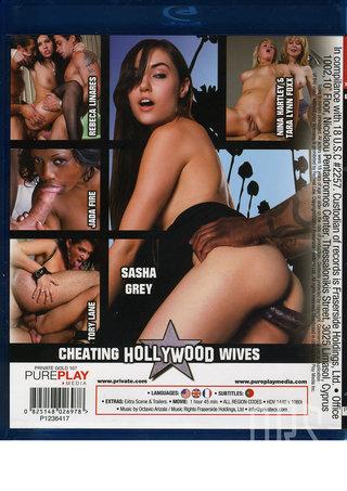 back - Cheating Hollywood Wives Blu-Ray