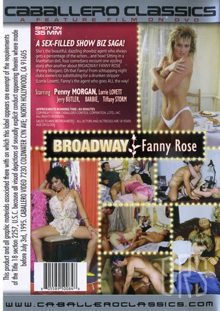 back - Broadway Fanny Rose