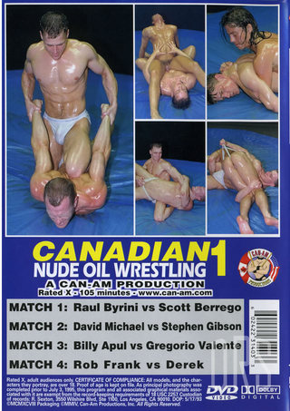 back - Canadian Nude Oil Wrestling