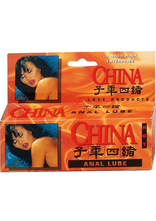 Large Photo of China Anal Lube Hot Warming
