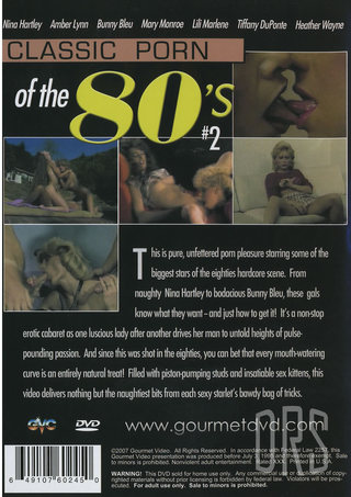 back - Classic Porn Of The 80s 2