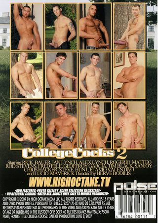 back - College Cocks 2