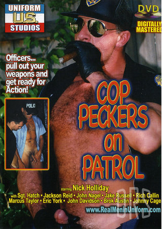 Large Photo of Cop Peckers On Patrol