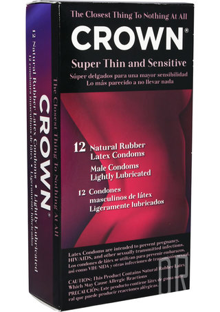 Large Photo of Crown Condoms 12 Pack
