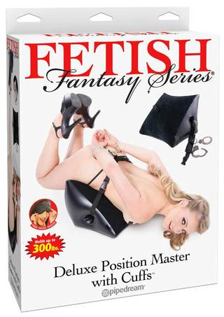 Front of Box - Deluxe Position Master with Cuffs