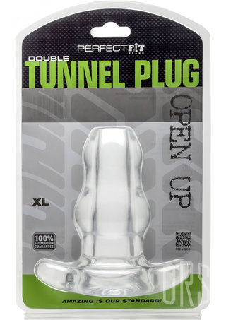 back - Perfect Fit Double Tunnel Plug XL