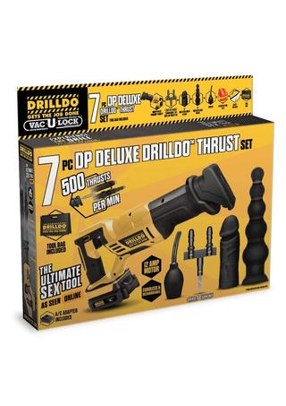 Large Photo of 7 Piece DP Deluxe Drilldo Thrust Set