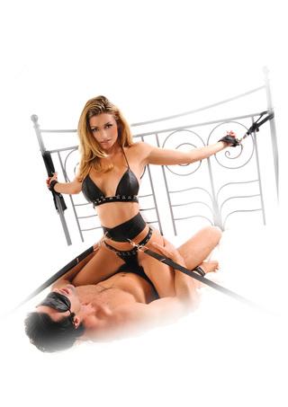 Model Image 2 - Bondage Belt Restraint System
