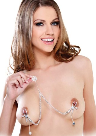 Large Photo of Crystal Nipple Clamps