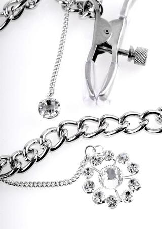 back - Crystal Nipple Clamps