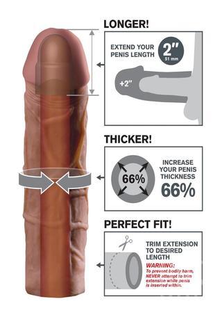 back - Mega 2 Inch Penis Extension