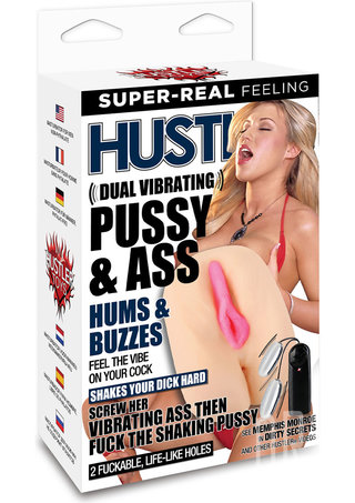 back - Hustler Memphis Monroe Dual Vibrating Pussy and Ass