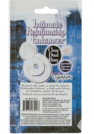 Back Side of Package - Intimate Relationship Enhancer