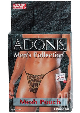 Large Photo of Adonis Men's Sheer Mesh Pouch G-String