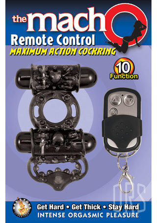 back - The Mach O Remote Control Maximum Action Cockring