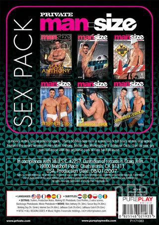 back - Man-size Sex Pack 2 6-pack