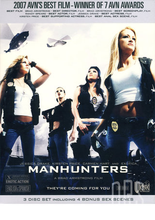Large Photo of Manhunters  3 Pack