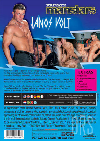 back - Manstars 5 Janos Volt