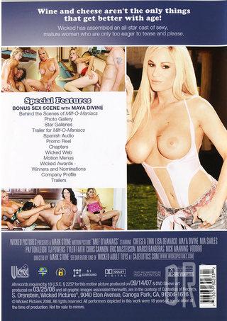 Milf O Maniacs - DVD