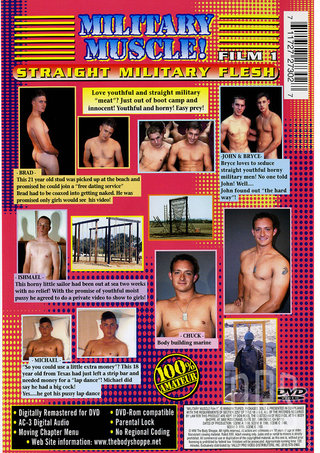 back - Military Muscle 1