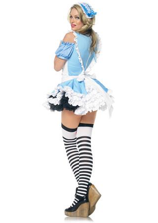 Back - Miss Wonderland Costume Med
