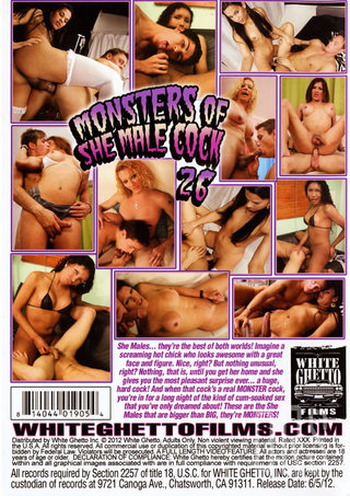 back - Monsters Of Shemale Cock 26
