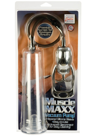 Front of Package - Muscle Maxx Vacuum Pump