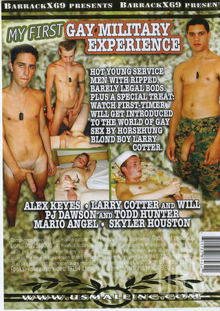 back - My First Gay Military Experience