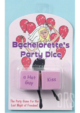 Large Photo of Bachelorette's Party Dice