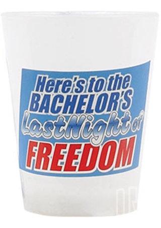 back - Bachelor Flashing Hanging Shot Glass