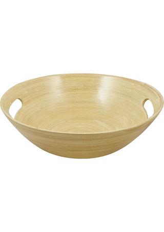 Large Photo of Nuru Massage Gel Wooden Bowl