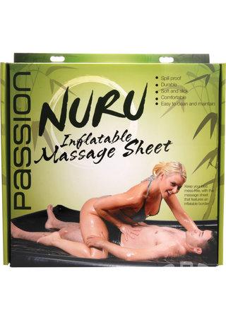 back - Nuru Inflatable Massage Sheet