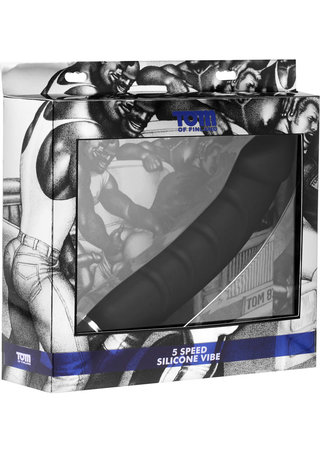back - 5 Speed Silicone Vibe - Tom of Finland