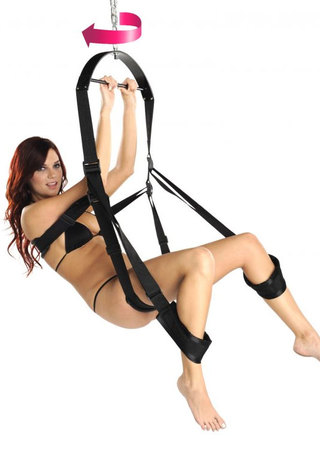 Large Photo of 360 Spinning Sex Swing