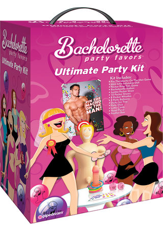 Large Photo of Bachelorette Party Favors Ultimate Party Kit