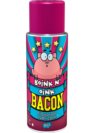 Large Photo of Boink N Oink Bacon Flavored Lube 4.6oz