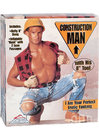 Construction Man Doll