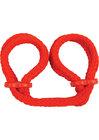 Japanese Silk Rope Wrist Cuffs
