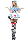 Miss Wonderland Costume Med