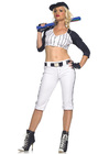 Star Player Baseball Costume M/L