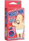 Travel Size Mini-Midget Man Inflatable Love Doll
