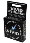 Vivid Studded Condom 3 Pack