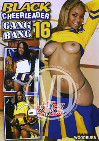 Large Photo of * Clearance - Black Cheerleader Gangbang 16